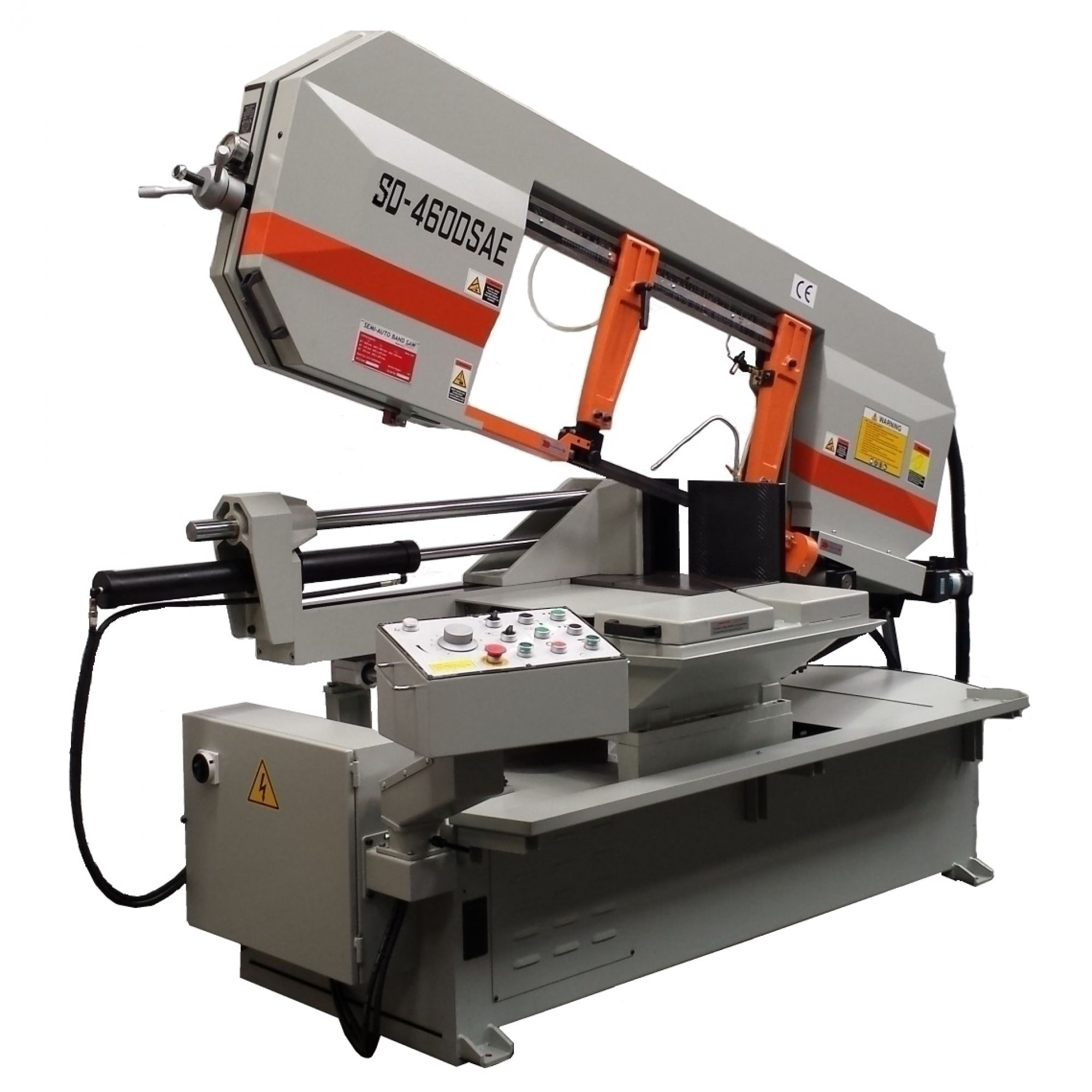 SD-460DSAE Double Mitre Semi-Automatic Bandsaw